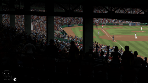 The smell of fresh cut grass, the baseball brewsky, the obstructed view seating - I love this game!