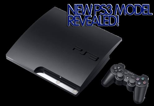 NEW PS3 MODEL