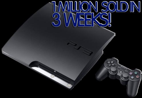 NEW PS3 1MILLION