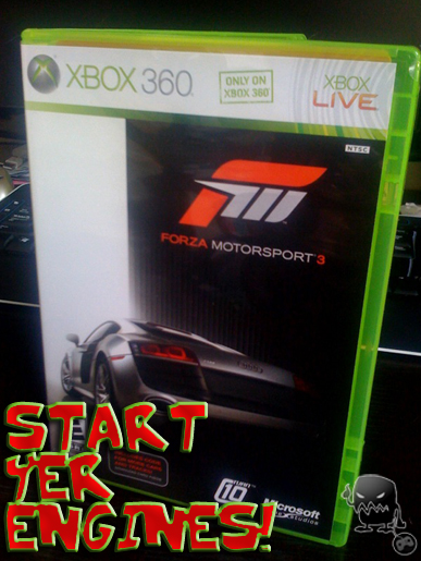 forza 3 is here