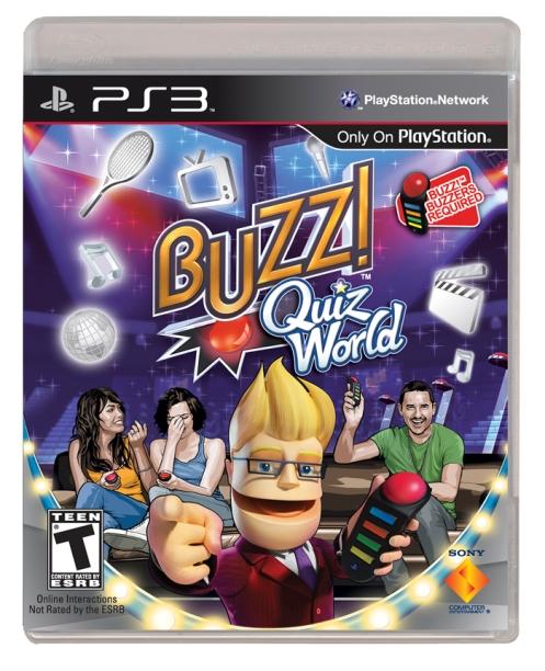Buzz Quiz World Box Art